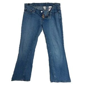 Lucky Brand Maggie cut jeans